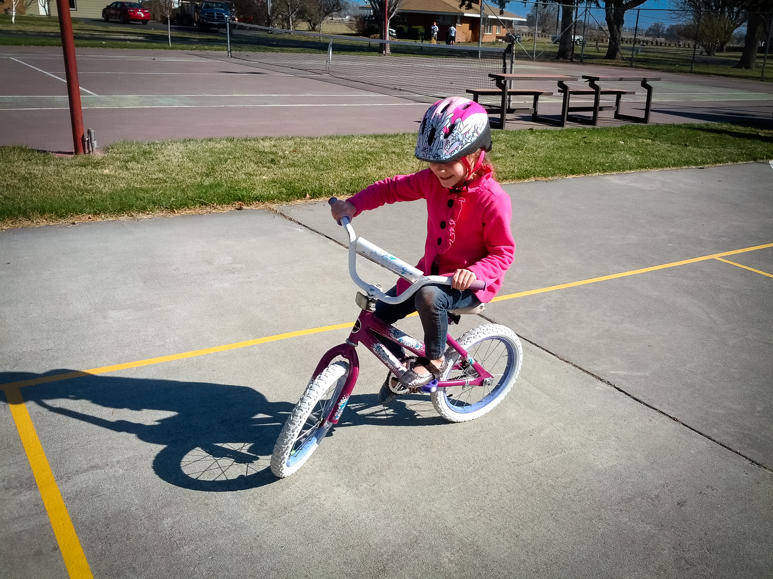 Goodbye Training Wheels!